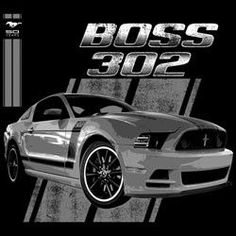 Ford Mustang Boss 302 * two sided design ( dark's only )