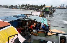 Effects of Typhoon Rammasun in Philippines July 16, 2014.
