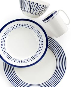 kate spade new york Charlotte Street East Collection - Dinnerware - Dining & Entertaining - Macy's