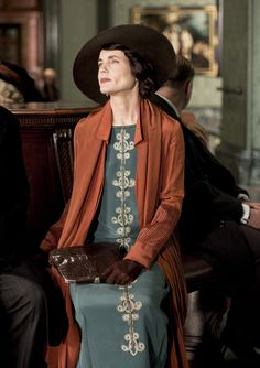 Downton Abbey S5EP3 Lady Cora Crawley, Countess Grantham