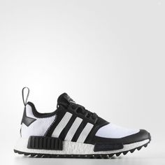 d2aa5eccc4d1 adidas Originals Men White Mountaineering NMD R1 Trail Primeknit Shoes Core  Black Footwear White (CG3646