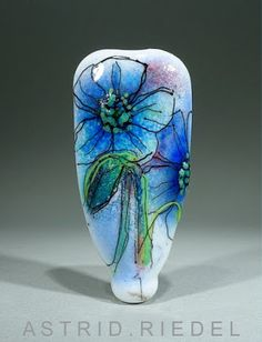 "Astrid Riedel Glass Artist: The "" watercolour"" series♥♥"