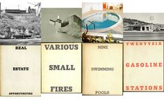 Ed Ruscha, 16 books. From 1962 to Conceptual Photography, Conceptual Art, Fabric Print Design, How To Gain Confidence, Visual Communication, Photomontage, Zine, Photo Book, Printing On Fabric
