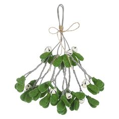 Buy Fiona Walker Wool Mistletoe Bunch with Bells | John Lewis