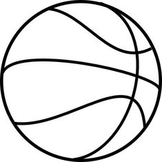 girls basketball clipart black and white free craft pinterest rh pinterest com basketball clipart black and white vector basketball clipart black and white free