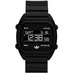adidas Originals 'Sydney' Digital Resin Strap Watch, 40mm