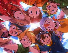 Digitmon ~I don't remember how much I really watched of this anime. A couple rounds at least, but I really liked this anime as well. Digimon 02, Digimon Seasons, Digimon Tamers, Sailor Mars, Sailor Venus, Natsume Takashi, Wallpaper 2016, Digimon Frontier, Digimon Digital Monsters