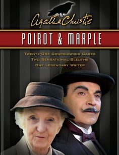 joan hickson & david suchet are the definitive miss marple and hercule poirot. Hercule Poirot, Agatha Christie's Poirot, Miss Marple, Best Mysteries, Cozy Mysteries, Sherlock, Bbc Tv Shows, Midsomer Murders, Films Cinema