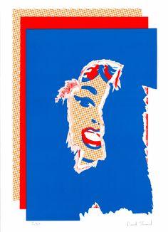 Poster Girl David Shand Print Club London