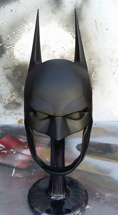 Batman has had a large verity of masks suits and gadgets. In the newest video game he is featuring yet another set of upgraded equipment. Based of the art work from that game I went to work sculpting a custom cowl to match what is seen in the game. Each cowl is hand made to order using polyurethane rubber for the greatest finish and durability.  If you have any questions about this or any other projects send me a message and I will get back with you.
