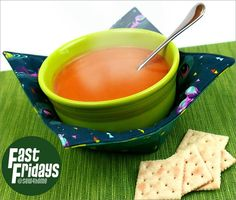 Fast Fridays: Soup Bowl Cozy   Sew4Home