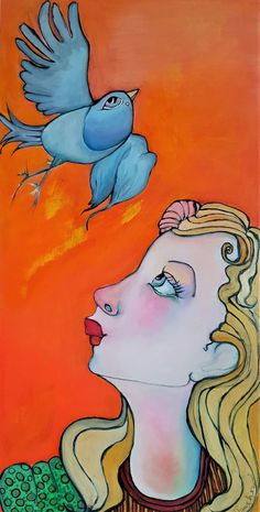 Original Figurative Illustration Oil Painting by Liz Vaughn, on birch panel x Available for Purchase Disney Characters, Fictional Characters, Original Paintings, My Arts, The Originals, Disney Princess, Figurative, Birch, Illustration
