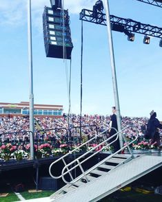 It's that time again! We are busy getting ready for our graduation ceremony lineup this season 🎓 . Jbl Subwoofer, Audio Visual Installation, Lighting Truss, Stage Lighting, Crossfire, Outdoor Events, Lineup, San Francisco Skyline, New England