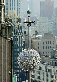 New Years ball...  Someday NYC on New Year's Eve