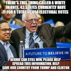 And hand Donald Trump the election. Do you think that's what Bernie Sanders wants? Will that help the forward motion of your Revolution? Who or what are you trying to help other than your own bruised ego? Social Democracy, Politics, Ignorant People, Citizens United, Bernie Sanders For President, Past Presidents, From Where I Stand, Right Wing, Founding Fathers