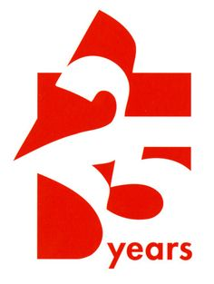 AIGA Design Archives More - Graphic Templates Search Engine Company Anniversary, Anniversary Logo, 25 Year Anniversary, Design Logo, Branding Design, Web Design, Design Trends, Typography Logo, Graphic Design Typography