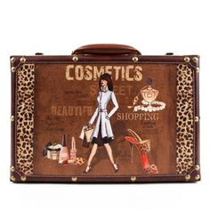 Nicole Lee Camilla Women's Vintage 14-inch Briefcase | Overstock.com Shopping - The Best Deals on Fabric Briefcases