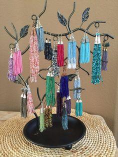 Tassel earrings!!!
