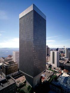 Rainier Tower | Seattle, Washington | Architect Minoru Yamasaki