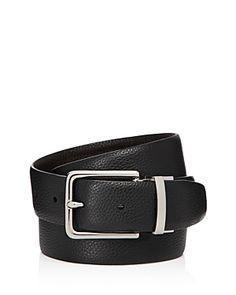Cole Haan Men's Reversible Pebbled Leather Belt In Black/java Belt Online, Men Looks, Black Belt, Pebbled Leather, Cole Haan, Man Shop, Mens Fashion, Accessories, Shopping
