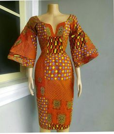 Awesome latest african fashion look . African Dresses For Women, African Print Dresses, African Attire, African Fashion Dresses, African Wear, African Prints, Ghanaian Fashion, African Style, African Women