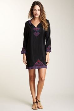 HauteLook | Black To Basics: What Goes Around Comes Around Margot Silk Dress