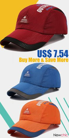 b814c470b45  2  14 Breathable Quick-drying Baseball Cap Outdoor Casual hat.