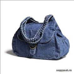 Made of Old Jeans Denim Diy Jeans, Jean Purses, Purses And Bags, Mochila Jeans, Sacs Tote Bags, Duffle Bags, Diy Sac, Denim Purse, Denim Ideas