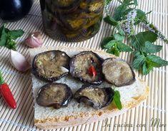 Melanzane grigliate conservate sott'olio alla calabrese