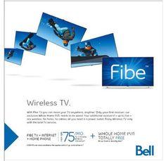 Bell wireless tv
