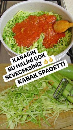 Healthy Food List, Healthy Eating Habits, Healthy Recipes, Good Food, Yummy Food, Spaghetti Recipes, Zucchini Spaghetti, Food Platters, Turkish Recipes