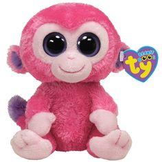 beanie boo raspberry   Ty Beanie Boos Razberry Monkey
