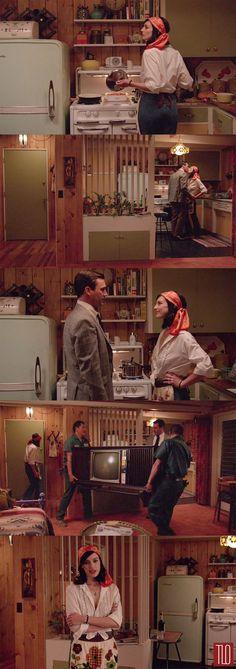Mad Men Season 7, episode 1 - Don and Megan #madmen