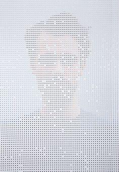 People Behind Perforated Screen-3