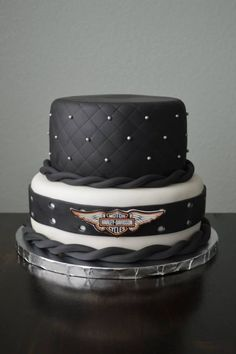 Harley-Davidson Wedding Cake