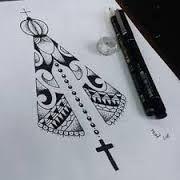 Resultado de imagem para tattoo nossa senhora aparecida