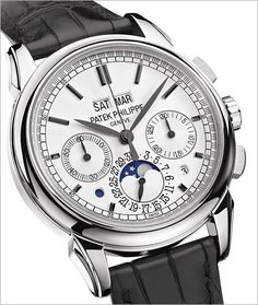 The undisputed champion of the watch world is the complicated Patek Philippe.