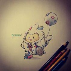 Little pokemon- togepi as togekiss :3
