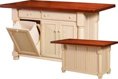 kitchen island with seating for 4 - Google Search
