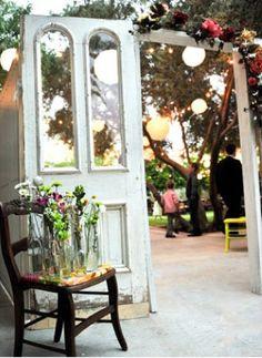 garden wedding entrance garden-wedding