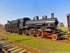 Locomotiva a vapore  FS  625.100 - Stazione di Belgioioso  (I)  -  26 ott 2014  -  © Umberto Garbagnati -