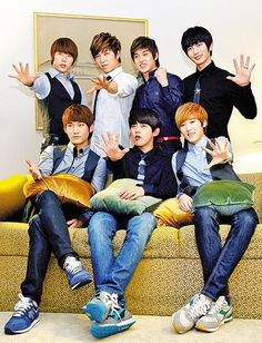 Hoonmin,Soohyun,Eli ♡ Kiseop,AJ, Dongho,Kevin♡