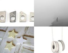 LuSh GrEy by •Bec on Etsy featuring concrete jewelry - geometric architectural concrete ring by shooohsJewelry