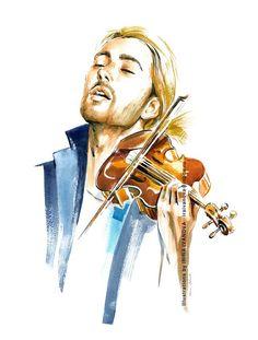 https://flic.kr/p/RmiJrZ | DG-9-small | violinist David Garrett.  Prints available: society6.com/product/the-sound-of-music228589_print#s6-65...  #portrait #musician #violinist #composer #davidgarrett #violin #music #sound #classical #crossover #fanart #myprintshop #illustration #drawing #ink #watercolor #brush #artwork #instaart #artinsta #arworkforsale