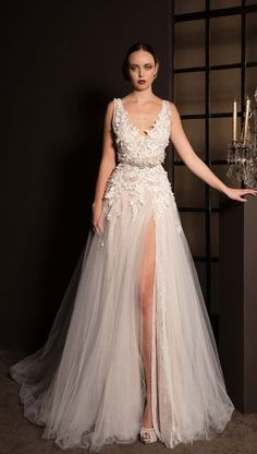 Featured Dress: Anna Georgina; Wedding dress idea.