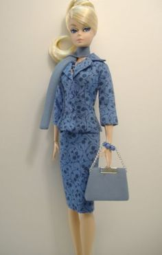 Handmade ooak Fashion for Original and Articulated / Poseable Silkstone Barbie