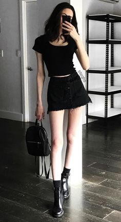 Outfits skirts grunge fashion tumblr
