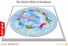 Now on Sale The Divine Wheel of Guidance - Simple advice when you need it - make your own wheel in a few simple steps - 2 PDF files for inst