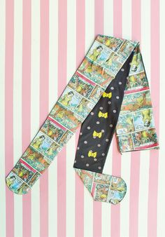 Emily & Shirley Temple Cute   Miscellany   Snow White Print Tights