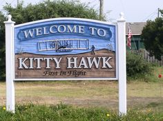 Kitty Hawk, NC- sight of the first flight Kitty Hawk North Carolina, Outer Banks North Carolina, Fear Of Flying, Kite Flying, Wright Brothers, What A Wonderful World, Places Around The World, Wonders Of The World, Places Ive Been